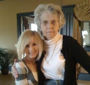 Me and Grandma J