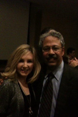 Dr. Cairo and I at the Tri-State Pediatric Blood Club Dinner